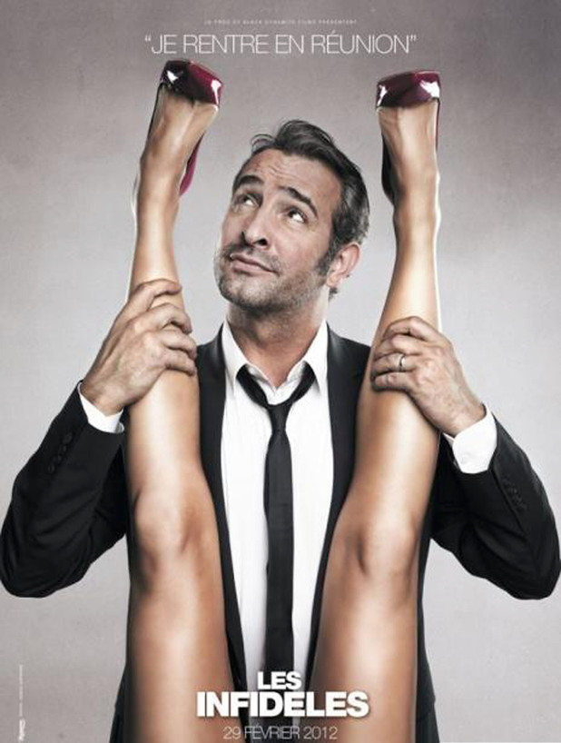 Jean Dujardin Les Infideles (The Players) poster