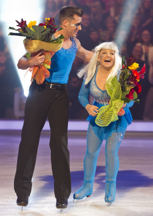Charlene Tilton and Matt Gonzalez