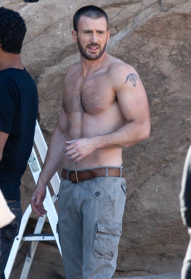 Chris Evans photoshoot, Los Angeles