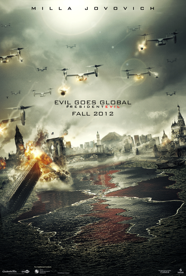 'Resident Evil: Retribution' poster
