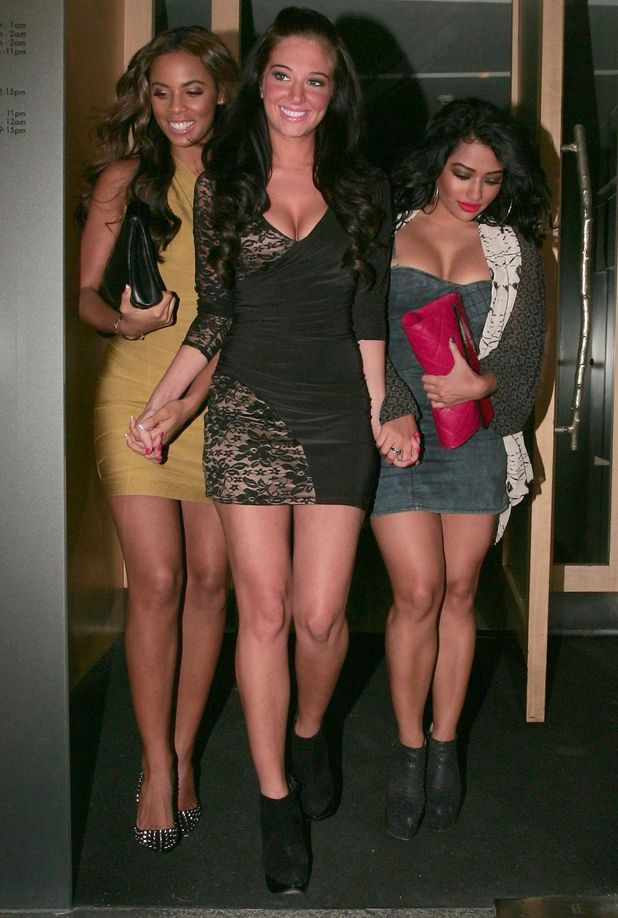 Tulisa Contostavlos, Rochelle Wiseman and Vanessa White