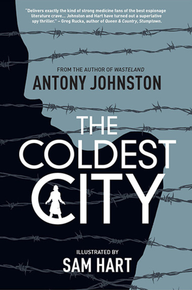 'The Coldest City' cover