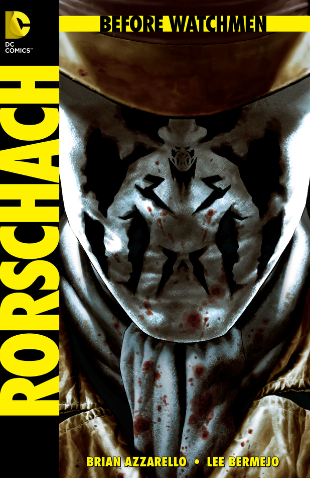 Lee Bermejo's cover for 'Rorschach'