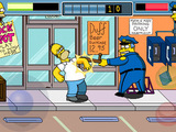 &#39;The Simpsons Arcade&#39; screenshot