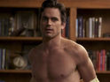 Matt Bomer says that he never tried to keep his sexual orientation a secret.