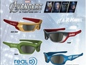 Avengers team up to produce Avengers-branded 3D glasses.