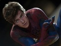 Andrew Garfield slips into the spandex formerly inhabited by Tobey Maguire.