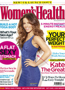 Kate Beckinsale in Women's Health - Cover