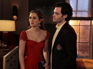 Blair Waldorf, Penn Badgley, Dan Humphrey, Gossip Girl