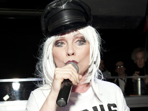 Debbie Harry (also known as Deborah Harry) performing at WIP Underground in New York City