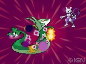 Mewtwo in Pokemon Black & White