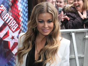 Carmen Electra at the Britain&#39;s Got Talent Auditions