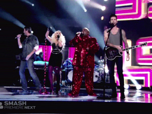 The Voice S02E02 - The coaches perform 2 Prince songs