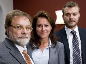 'Borgen' still: Lars Knutzon, Sidse Babett Knudsen and Johan Philip Asbaek