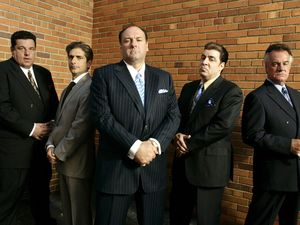 &#39;The Sopranos&#39; cast: Steven R. Schirripa, Michael Imperioli, James Gandolfini, Steven Van Zandt, Tony Sirico