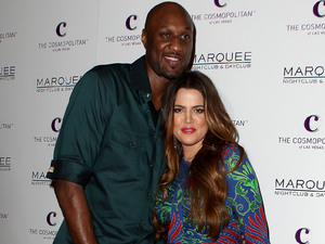 Lamar Odom and Khloe Kardashian