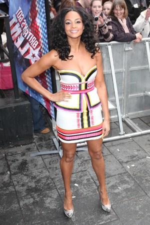 Alesha Dixon at the Britain's Got Talent Auditions