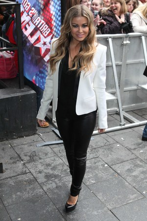 Carmen Electra at the Britain's Got Talent Auditions