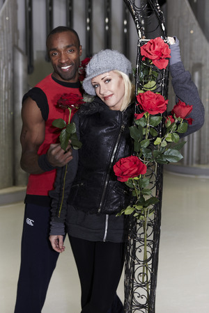 'Dancing On Ice - Behind the scenes' Valentine Day Special: Sebastien Foucan and Brianne Delcourt