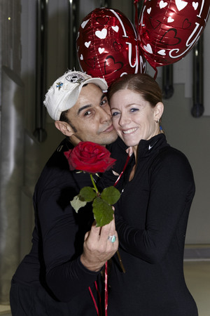 'Dancing On Ice - Behind the scenes' Valentine Day Special: Chico and Jodeyne Higgins