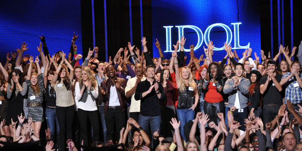 American Idol Season 11 -- Hollywood Week - The contestants together
