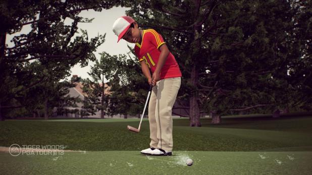 Tiger Woods PGA Tour 13 Legacy mode.