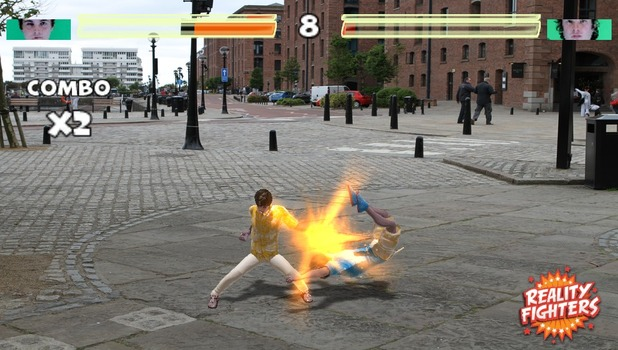 'Reality Fighters' screenshot