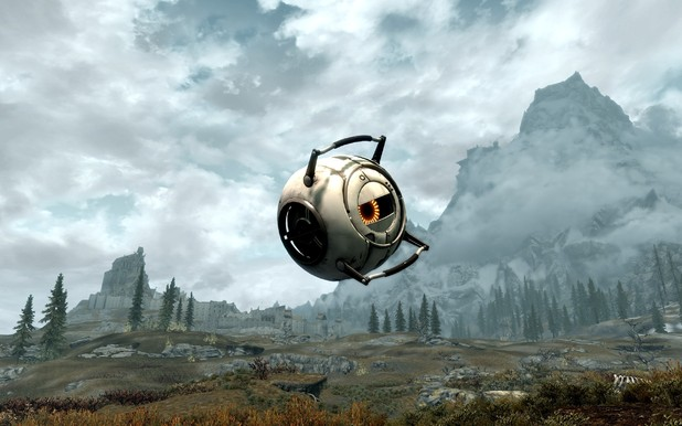 Skyrim Portal 2 mod