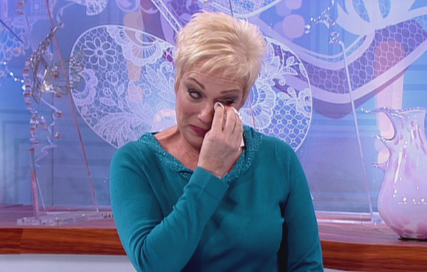 Presenter Denise Welch on 'Loose Women'