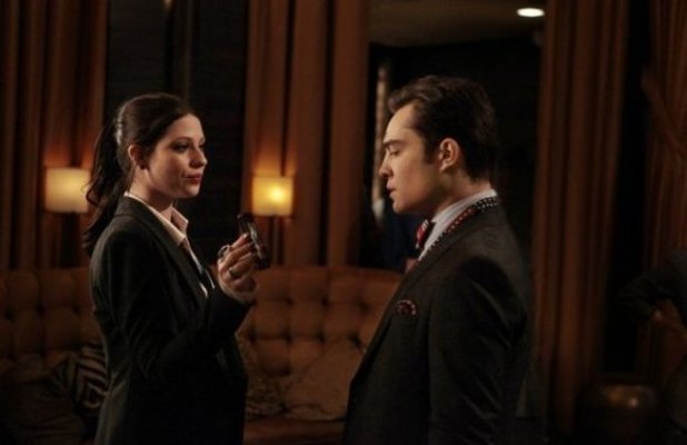 Georgina Sparks, Chuck Bass, Ed Westwick, Gossip Girl