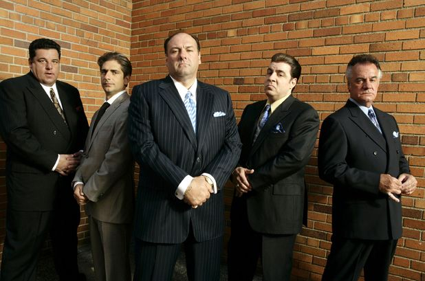James Gandolfini in 'The Sopranos'