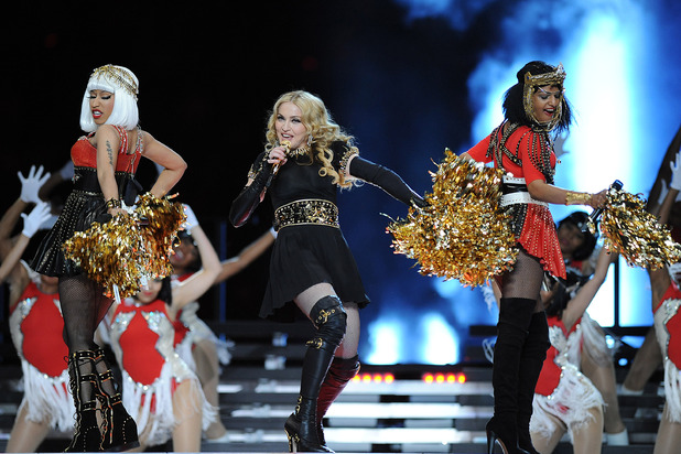 Madonna, MIA and Nicki Minaj at the Super Bowl