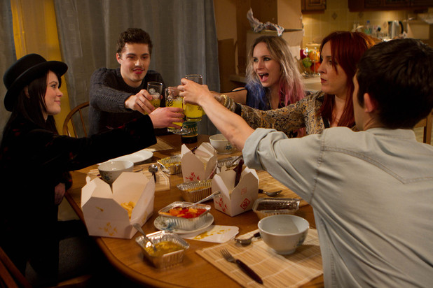 Hollyoaks 3284: Lacey, Callum, Ash and George