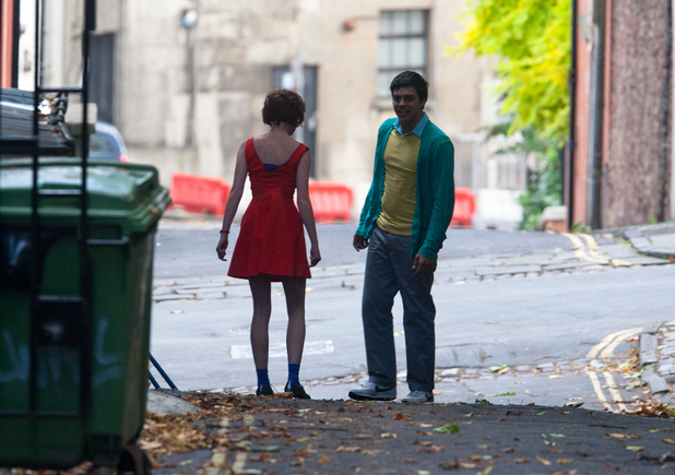 Skins, Franky, (Dakota Blue Richards) and Nick (Sean Teale)