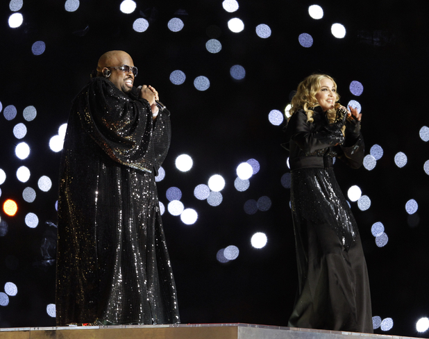 Madonna and Cee Lo Green