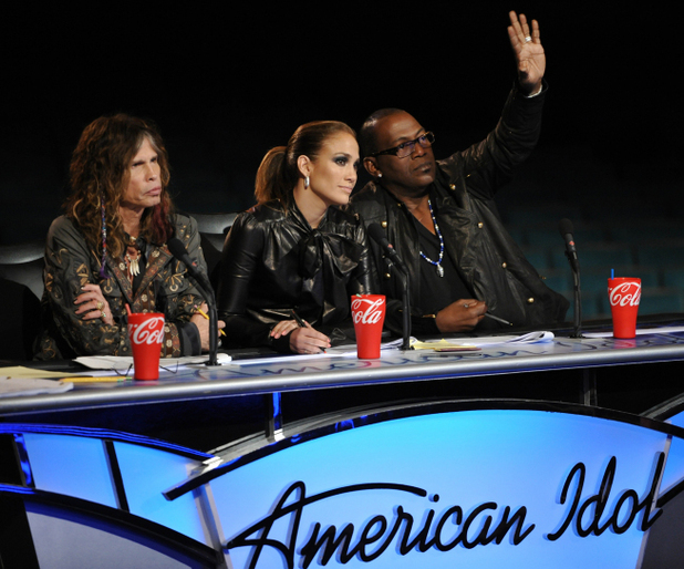 American Idol Season 11 -- Hollywood Week - Judges at their desk