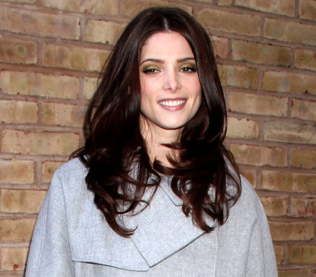 Ashley Greene is seen outside ABC Studios while making an appearance on 'Live With Kelly' New York City