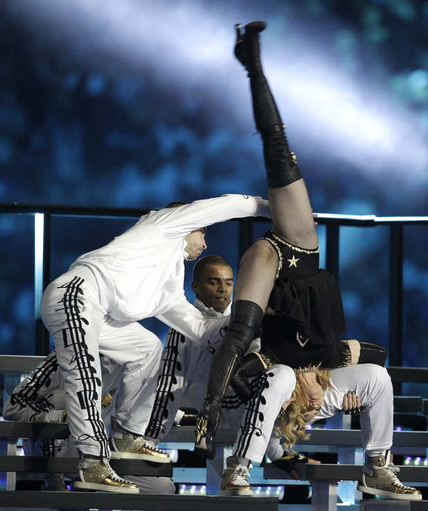 Madonna performing 'Music'