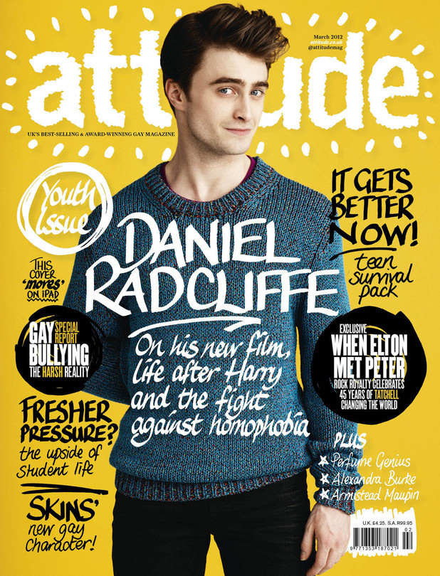 Daniel Radcliffe, Attitude magazine