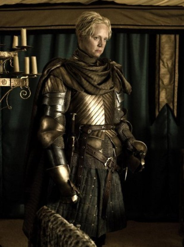 Game Of Thrones Series 2: Gwendoline Christie as Brienne of Tarth