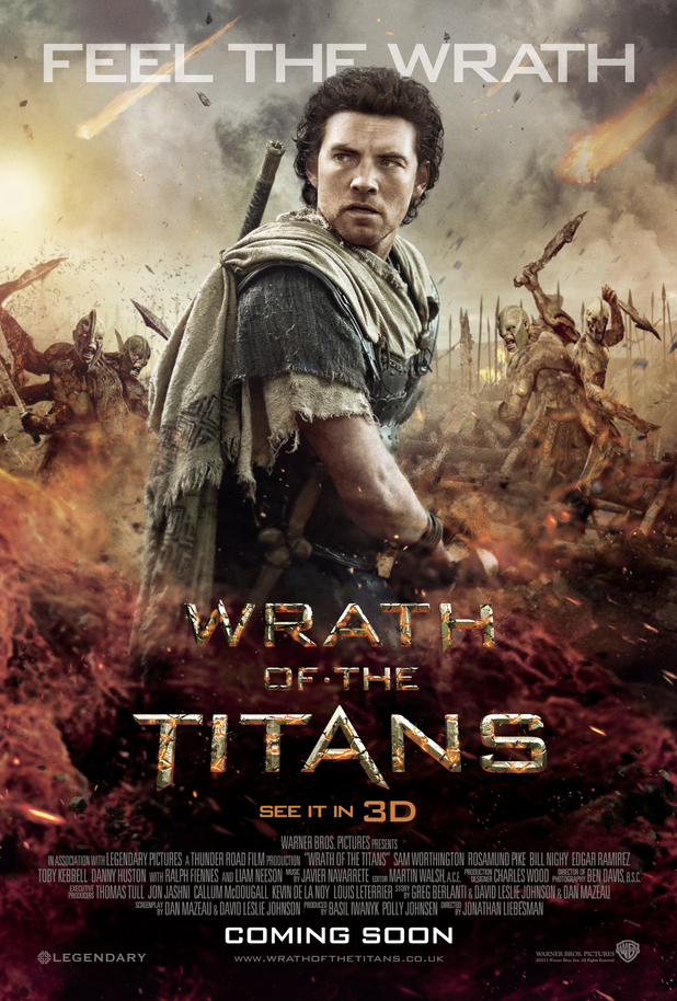 'Wrath Of The Titans' Character Posters: Sam Worthington as Persues