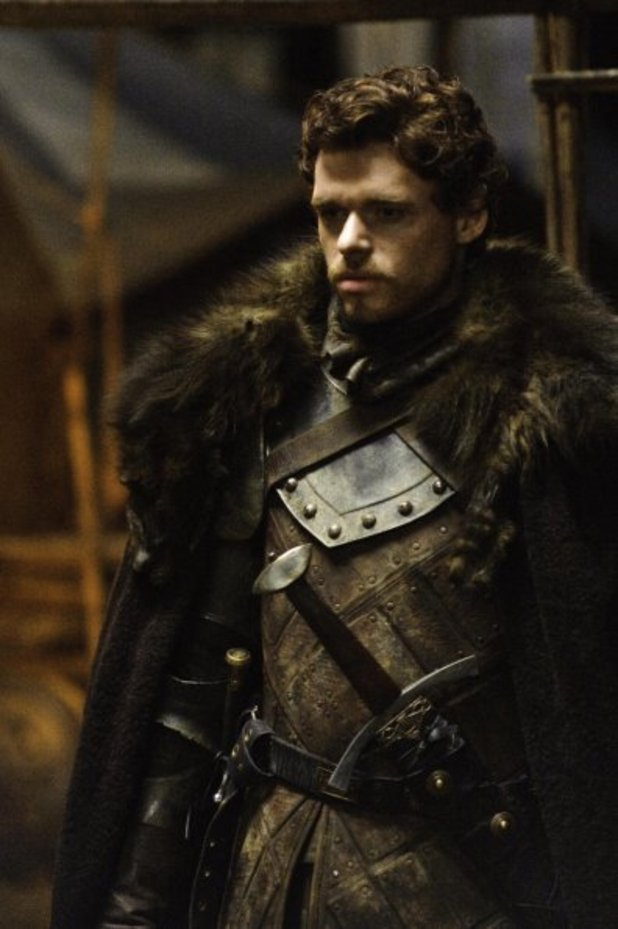 Richard Madden as Robb Stark