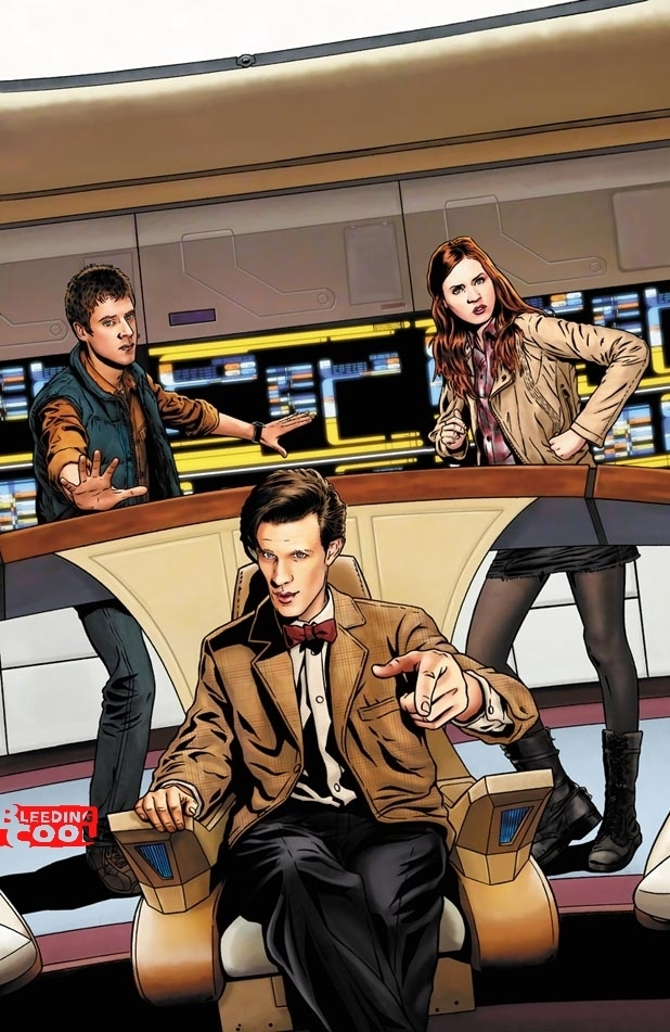 'Doctor Who', 'Star Trek' comics crossover