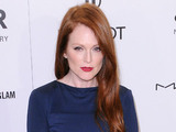 Julianne Moore, 2012 amfAR New York Gala at Cipriani Wall Street - Red Carpet Arrivals. New York Ciy