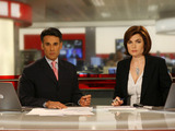 BBC &#39;News 24&#39; - Matthew Amriowalla and Jane Hill