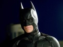 Bale wears Val Kilmer's Batsuit and acts opposite Amy Adams in the screen test.