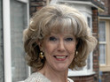 Sue Nicholls isn't sure whether Audrey Roberts should trust Lewis Archer.