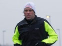 John Bishop starts his training regime with a marathon in his hometown.
