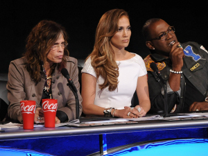 The judges at American Idol Hollywood Week