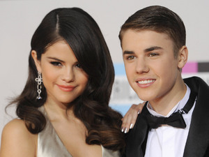 The prince and princess of teenpop Justin Bieber and Selena Gomez